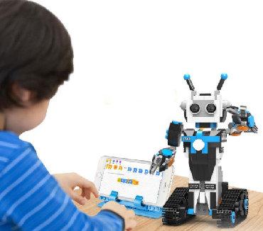 развивающие игрушки после года в Кыргызстан: Радиоуправляемый конструктор Mould King, Робот, КУПИТЬ Робот адиоупра