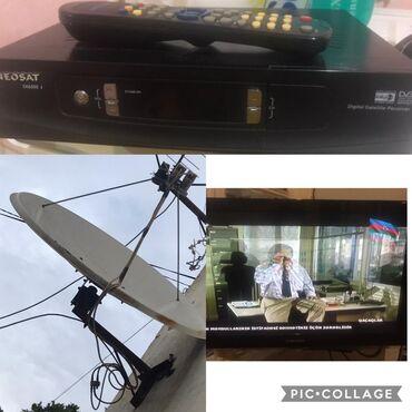 krosnu aparati - Azərbaycan: 82 ekran Samsung tv krosnu antena ve aparati ile birlikde 150 manat