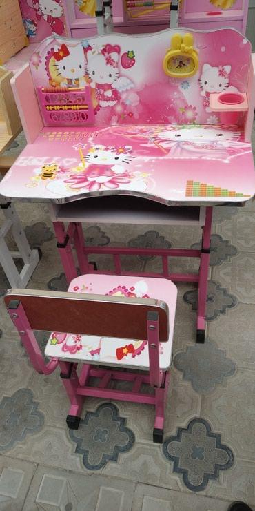 Xırdalan şəhərində Uşaq masası və stulu,tezedi,modellər çoxdu, çatdırılma var.