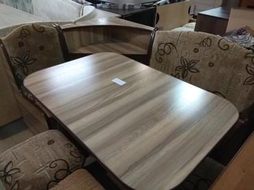 Новый кух.уголок, размер 1*1.40,стол,2таб,с дост в Бишкек