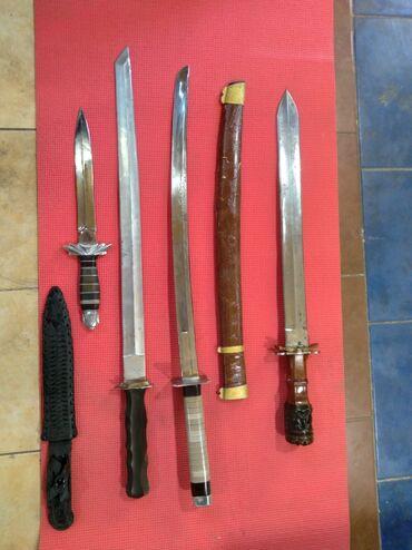 Коллекционные ножи - Бишкек: Колекция сувнирных мечей ножей кортиков ватцап