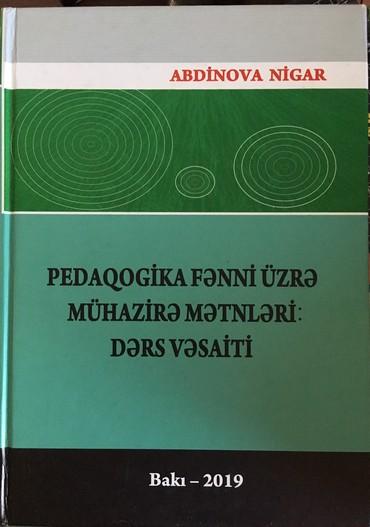 kurs - Azərbaycan: Pedaqogika fenni uzre muhazire metnleri ders vesaiti. Pedaqoji
