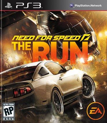 """Bakı şəhərində """"need for speed: the run"""" игра для ps3"""