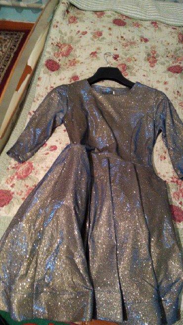 Женская одежда в Нарын: Продается платье по 600 почти даром.Одевала один раз на свадьбу брала