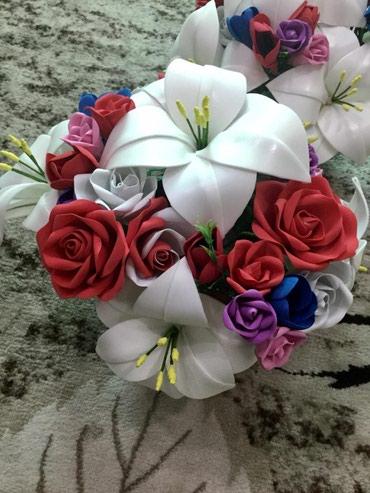 Букет/цветы из фоамирана 900сом. По в Бишкек