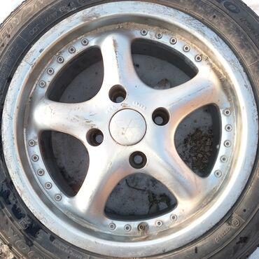 Продаю титан диски размер 15 (комплект) нет трещины. Без шины