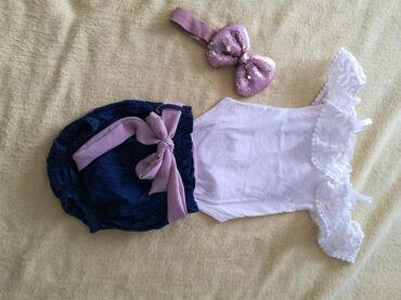 Bodi - Smederevo: Kompletic za bebu 0—3 meseci jednom nosen