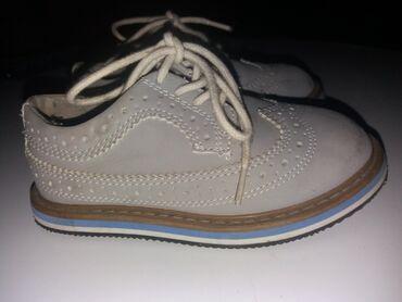 Dečija odeća i obuća - Ruski Krstur: CIpele za decaka broj 24PRELEPE cipele za malog gospodina, H&M 24
