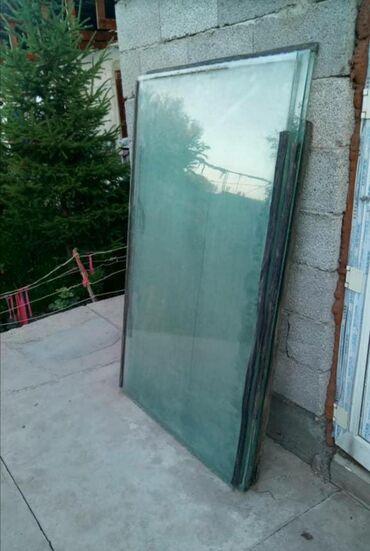 Продаю стекло 5мм Имеется 3 штуки размером - 1. 0*1.60 и 2штуки -