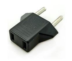 Universal travel power plug adapter for USA to Euro and Asia. в Бишкек