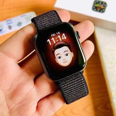 gps мониторинг в Кыргызстан: Черные Унисекс Наручные часы Apple