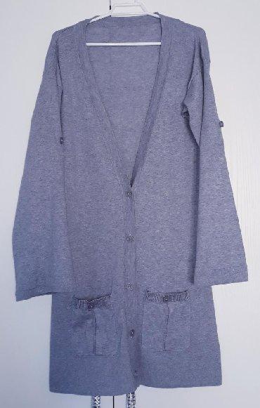 женская рубашка размер м в Кыргызстан: Кофточка женская. 100% хлопок.Размер: М, наш 44.Качество и состояние