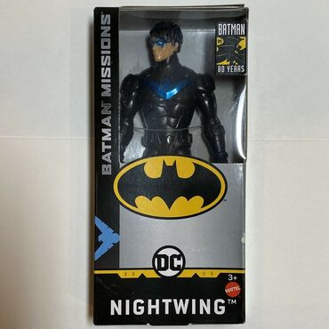 Batman - Srbija: Nightwing - DC Comics 80 Years Batman Missions  Visina 14 cm