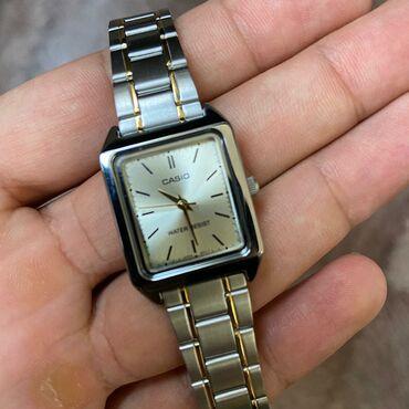 new-часы в Кыргызстан: Золотистые Женские Наручные часы Casio