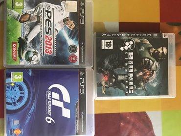 Bakı şəhərində Pes 2013-Ps3 oyun diski---3 u birlikde 50 azn