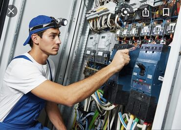 Электрик по вызовуЭлектромонтажные работы любой сложностиТак же можем