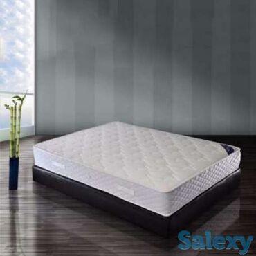 Двуспальные кровати - Кыргызстан: Продаю матрац, б/у двухместный, размер 1.4х1.9, 3000