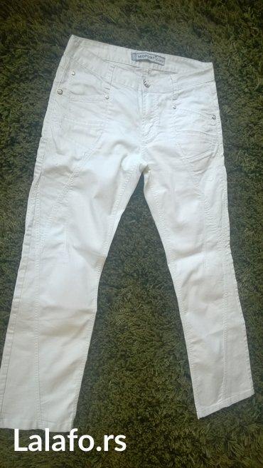 Bele pantalone zenske br. 32, kao farmerke - Lajkovac