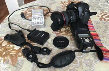 canon eos 5d mark ii в Азербайджан: Canon EOS 5D mark III+YN565EX II spicka+monfrotto+fotosumka+El