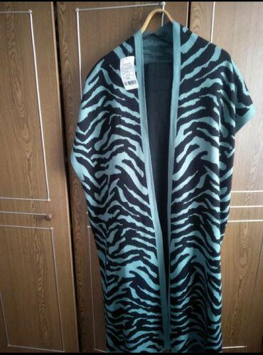 черное длинное платье в Кыргызстан: 2ка. Длина в пол. Платье чёрное с длинным рукавом. Кардиган с коротким