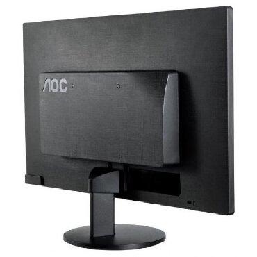 """мониторы aoc в Кыргызстан: Монитор AOC 18,5"""" E970SWN, LED, BLACK 1366 x 768 16:9 HD; :1; 250cd/"""