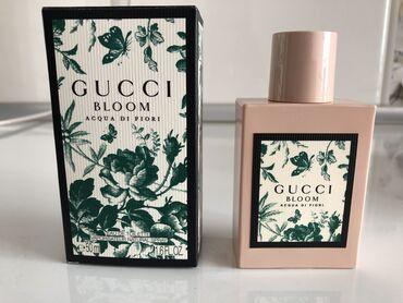 Gucci Bloom Aqua di fiori, оригинал 50 мл полный, использовала только