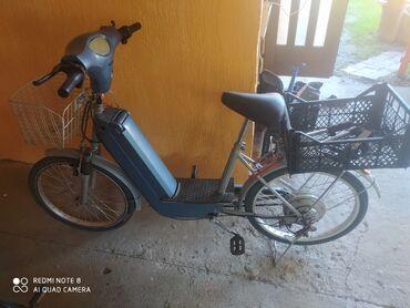 Električni bicikli   Radi na prekidač koji je prikazan slici ručica z