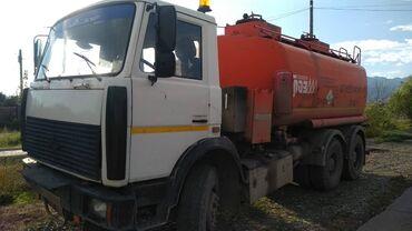 Услуги - Балыкчы: Услуга бензовоза СуперМаз доставка ГСМ по Кыргызстану ёмкость