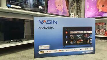Телевизоры ЯсинПрямо со склада43 дюм 110 см диогональСмарт тв андроид