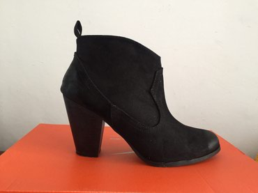 Ботинки, надевала один раз, размер 38, не замша в Бишкек