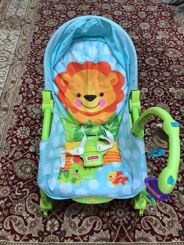 квартиры в аламедин 1 в Кыргызстан: Продается детское кресло-качалка. В хорошем состоянии. Люлька