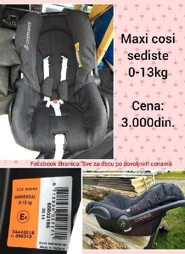 Maxi cosi - Srbija: Maxi cosi sediste 0-13kg, Cena 3.000din