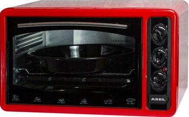Электрическая духовка asel af-0023Духовка asel 33 л с таймером af 0023