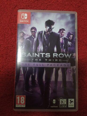 Saints Row 3 The third на Nintendo Switch картридж, обмен на другие