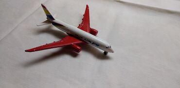 Rc avion - Srbija: Avion Majorette BK 100918, 10 cm,fale 2 z.tocka i z.krilo nije