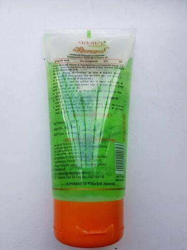 dezodorant aloje vera в Кыргызстан: Гель ALOE VERA GEL PATANJALI,,для лица и тела аюрведический Индия ори