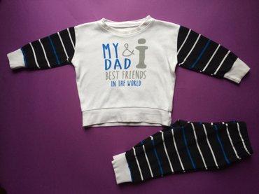 Jasmil - Srbija: Pamučna jasmil pidžama naznačene veličine 74, za bebe dečake uzrasta