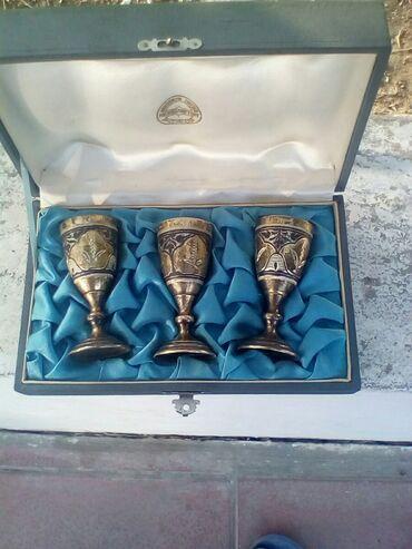 Əntiq əşyalar - Azərbaycan: Gümüş.badeler.pirob.875.101.qiram