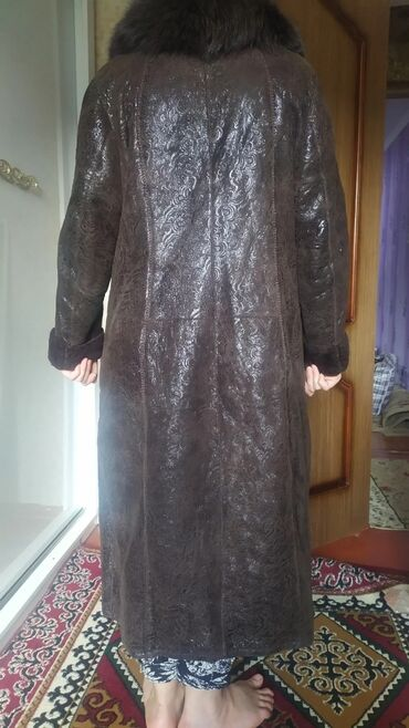 Женская одежда в Джалал-Абад: Дублёнка женская размер 54-56