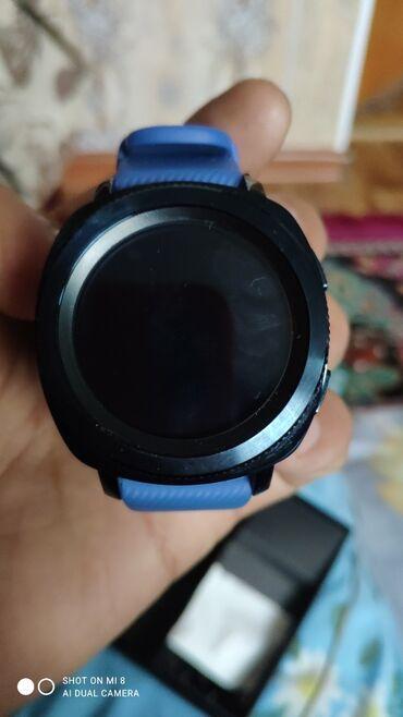 чек в Кыргызстан: Синие Унисекс Наручные часы Samsung