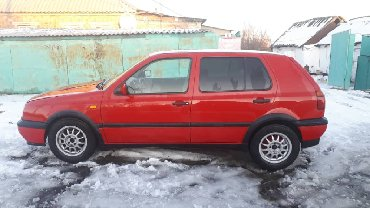 volkswagen 1 в Ак-Джол: Volkswagen Golf 1.8 л. 1993
