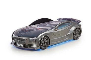 Детская кровать-машина BMW & Mercedes-Benz NEO Graphite