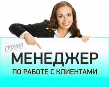 Требуется гостевой менеджер для в Бишкек