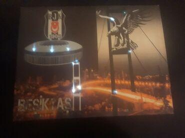 Slike | Kovin: Svetleca reklama besiktas sitostampa na platnu dimenzije - sirin