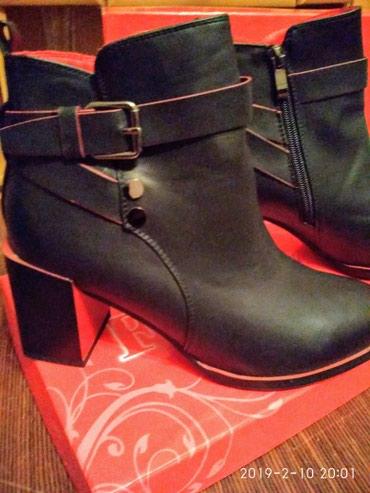 Ботинки (женские) новые .размер -37-38. в Novopokrovka