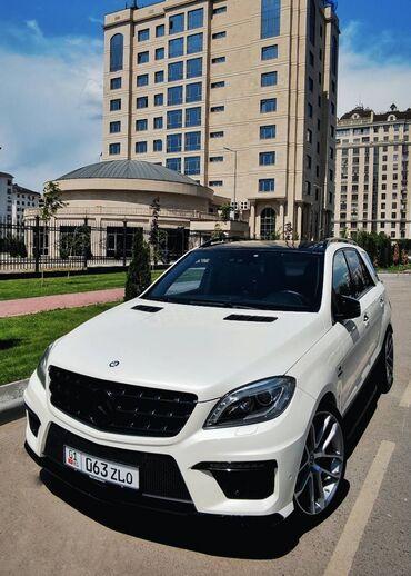 Автомобили - Бишкек: Mercedes-Benz ML 63 AMG 5.5 л. 2012