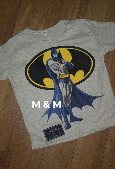 Ostalo | Lajkovac: Prelepe majice za dečake, brušeni pamuk  Betmen  2, 4, 8, 10 580 din!