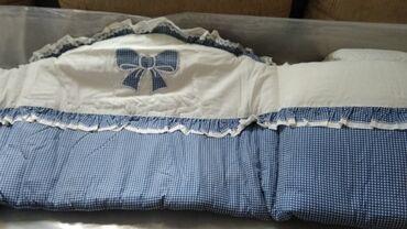Ogradica - Srbija: Bebi ogradica za krevetac. jako malo koristena, jer je dete jako malo
