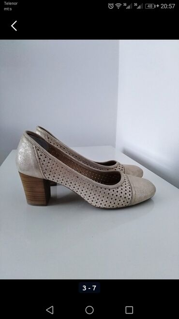 Lee-cooper - Srbija: Nove, bukvalno jednom obuvene cipelice od čiste kože i spolja i