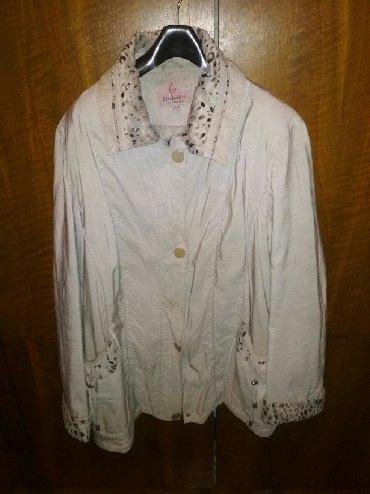 Куртки - Б/у - Бишкек: Куртка женская демисезонная р.54-56